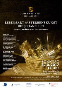 Lebensart und Sterbenskunst - Plakat - A5