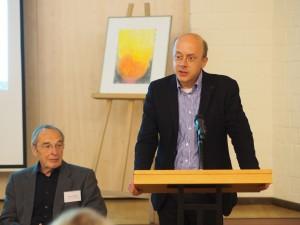 Prof. Dr. Johann Anselm Steiger, Hamburg, koordiniert die facettenreiche nationale und internationale Johann Rist-Forschung